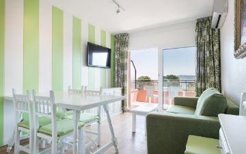 APPARTEMENTS MIT 2 SCHLAFZIMMERN salles beach apartments Girona